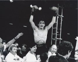 Barry Mc Guigan 8X10 Photo Boxing Picture In Victory - $3.95