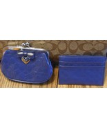 NWT Coach Coin Purse 65657/ Card Case 62544/ Na... - $51.00