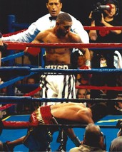 Diego Chico Corrales 8X10 Photo Boxing Picture Knock Down - $3.95