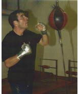 JOE CALZAGHE 8X10 PHOTO BOXING PICTURE SPEED BAG - $3.95