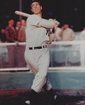 Joe Dimaggio 8X10 Photo New York Yankees Ny Baseball Picture Swinging Bat Color - $3.95