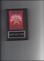 Maryland Terps Banner Plaque Basketball Terr API Ns - $3.95
