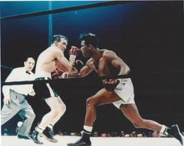 Sugar Ray Robinson Vs Gene Fullmer 8X10 Photo Boxing Picture Color - $3.95