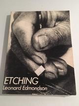 Etching : Leonard Edmondson / CLASSIC BOOK ON SUBJECT MATTER - $9.60