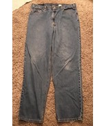 Men's Levi's 550 Red Tab Relaxed Fit Blue Jeans, Size 40x34 - $22.99