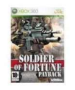 Soldier Of Fortune: Payback [Xbox 360] - $6.91