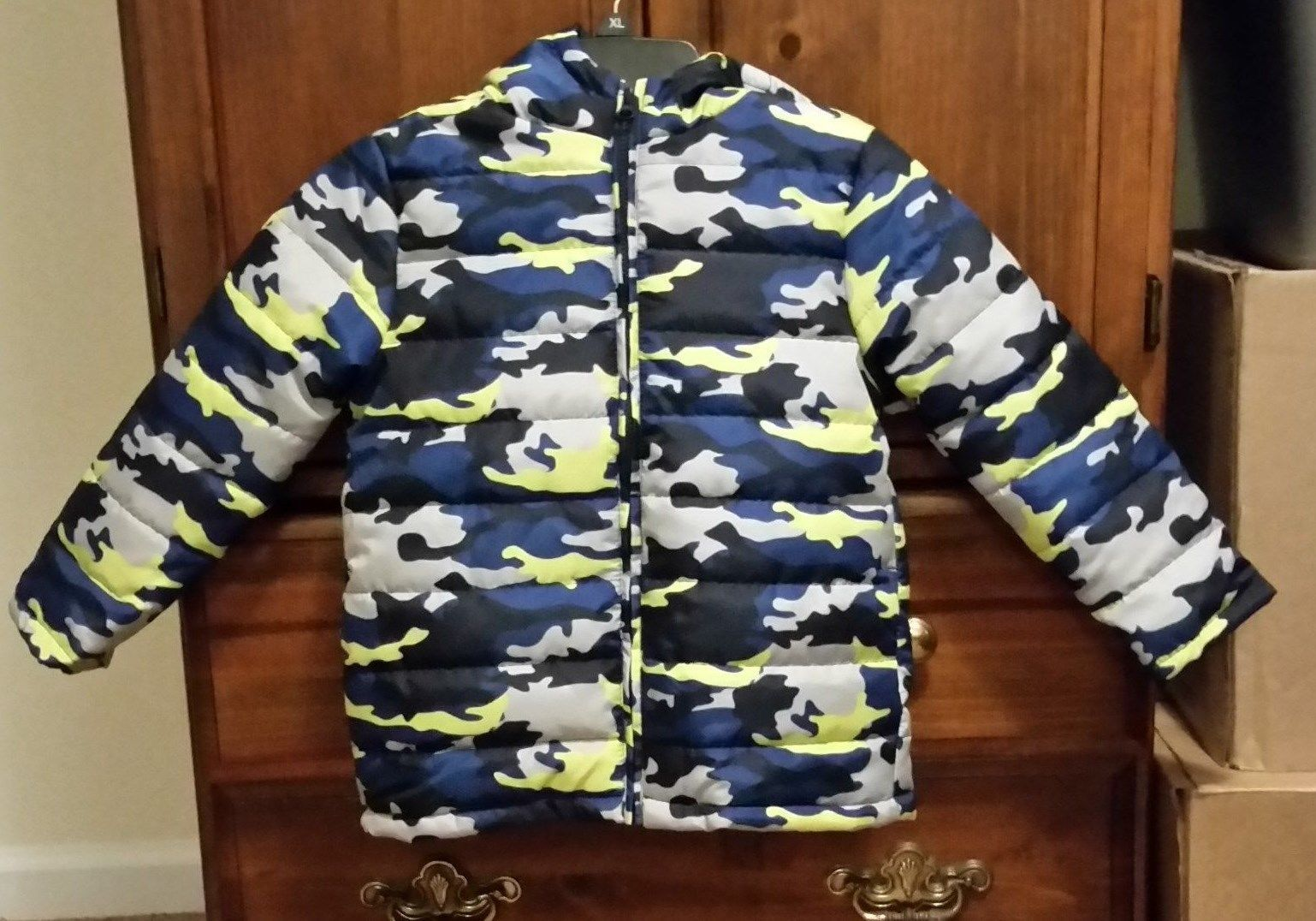 f533a4b78 Gymboree Blue Camo Camouflage Hooded Puffer and 50 similar items