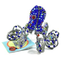 Beady Baubz Handmade Beaded Octopus Sculpture Figurine Made Zimbabwe Africa image 2