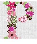pepita The Letter P Flowering Needlepoint Kit - $80.00