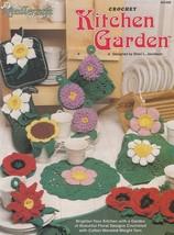 Kitchen Garden Crochet Pattern Booklet TNS 941408 Mums Daises Poinsettia... - $8.95