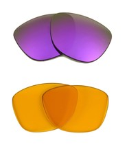 New Seek Replacement Lenses Oakley Frogskins - Hi Yellow Purple - $18.92