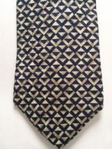 Structure Le Collezioni Silk Neck Tie Black Tan - $12.38