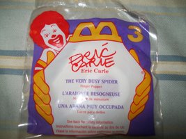 Mcdonalds Eric Carle ( the Very Busy Spider ) F... - $1.32