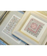 CLEARANCE Pretty Little Square 4 cross stitch c... - $6.00