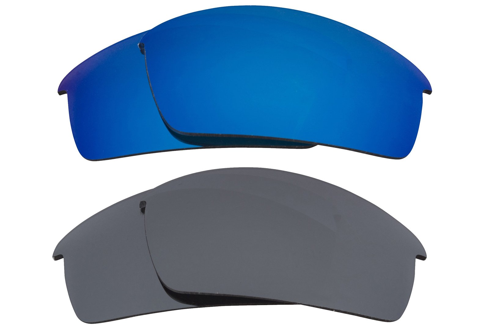 New SEEK Replacement Lenses Oakley BOTTLECAP - Polarized Black Blue - $25.73