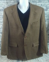 Hounds Tooth 100% Wool Madison Creek Outfitters Sport Coat Blazer Jacket... - $43.55