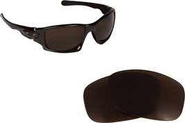 New Seek Optics Replacement Lenses Oakley Ten - Polarized Brown - $15.83