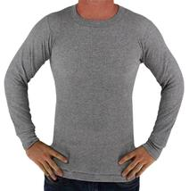 Men's Long Sleeve Thermal Underwear Light Weight Solid Shirt image 5
