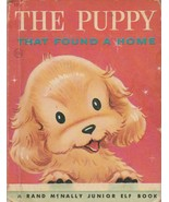 The Puppy That Found a Home 1958 Dorothy Grider Rand McNally Elf Book - $8.90
