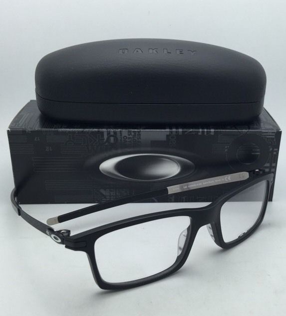 1bd48355f879b New OAKLEY Eyeglasses PITCHMAN OX 8050-0153 53-18 Satin Black Frames w