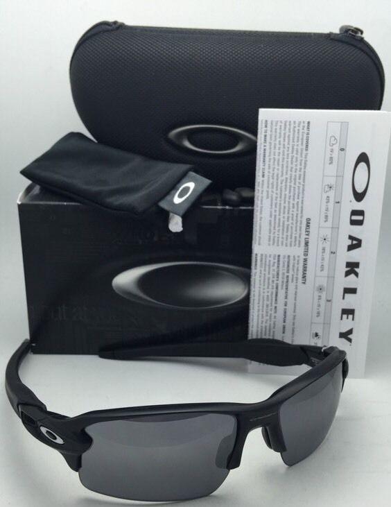 45b2c36cc3 OAKLEY Flak 2.0 Sunglasses OO9295-01 Matte Black Frames w  Black Iridium  Lenses