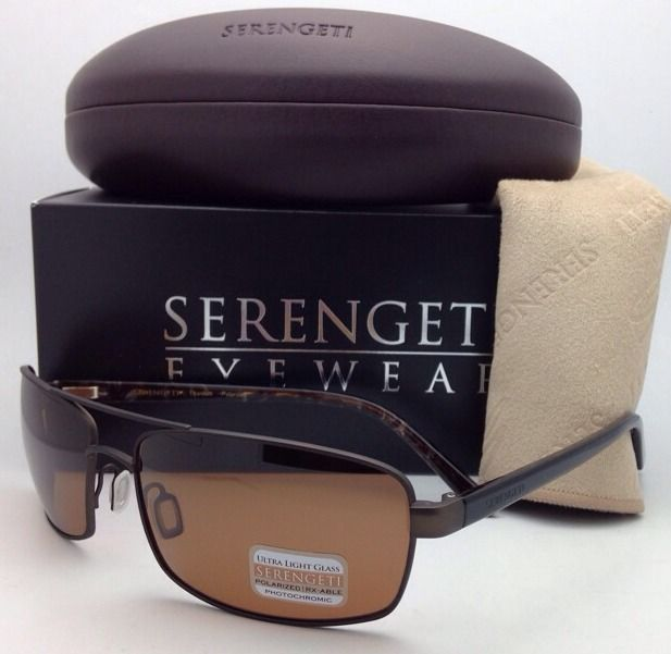 92b9b49107 SERENGETI PHOTOCHROMIC POLARIZED Sunglasses San Remo 7609 Brown Frame w   Drivers