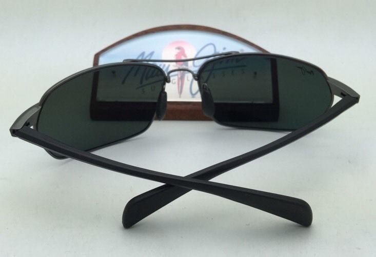 ae29e45eed Polarized MAUI JIM Sunglasses MALIKO GULCH MJ 324-02D Gunmetal Frame w Grey  Lens