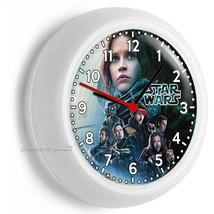 Star Wars Rogue One Story Jedi Rebels Galaxy Wall Clock Boy Room Man Cave Decor - $23.39
