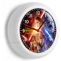 Star Wars Force Awakens Jedi Rebels Galaxy Wall Clock Boys Room Man Cave Decor - $21.05