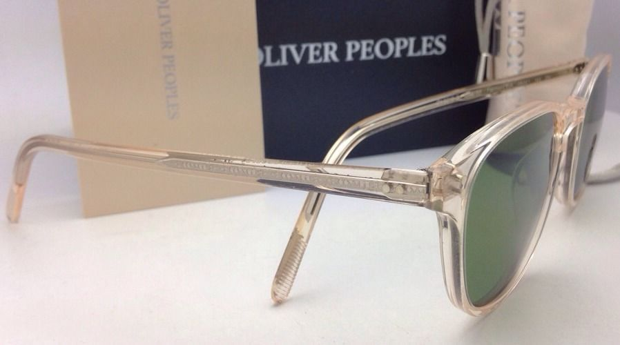 ebee4801f6 New OLIVER PEOPLES Sunglasses FAIRMONT SUN OV 5219-S 1094 52 Buff Frame w