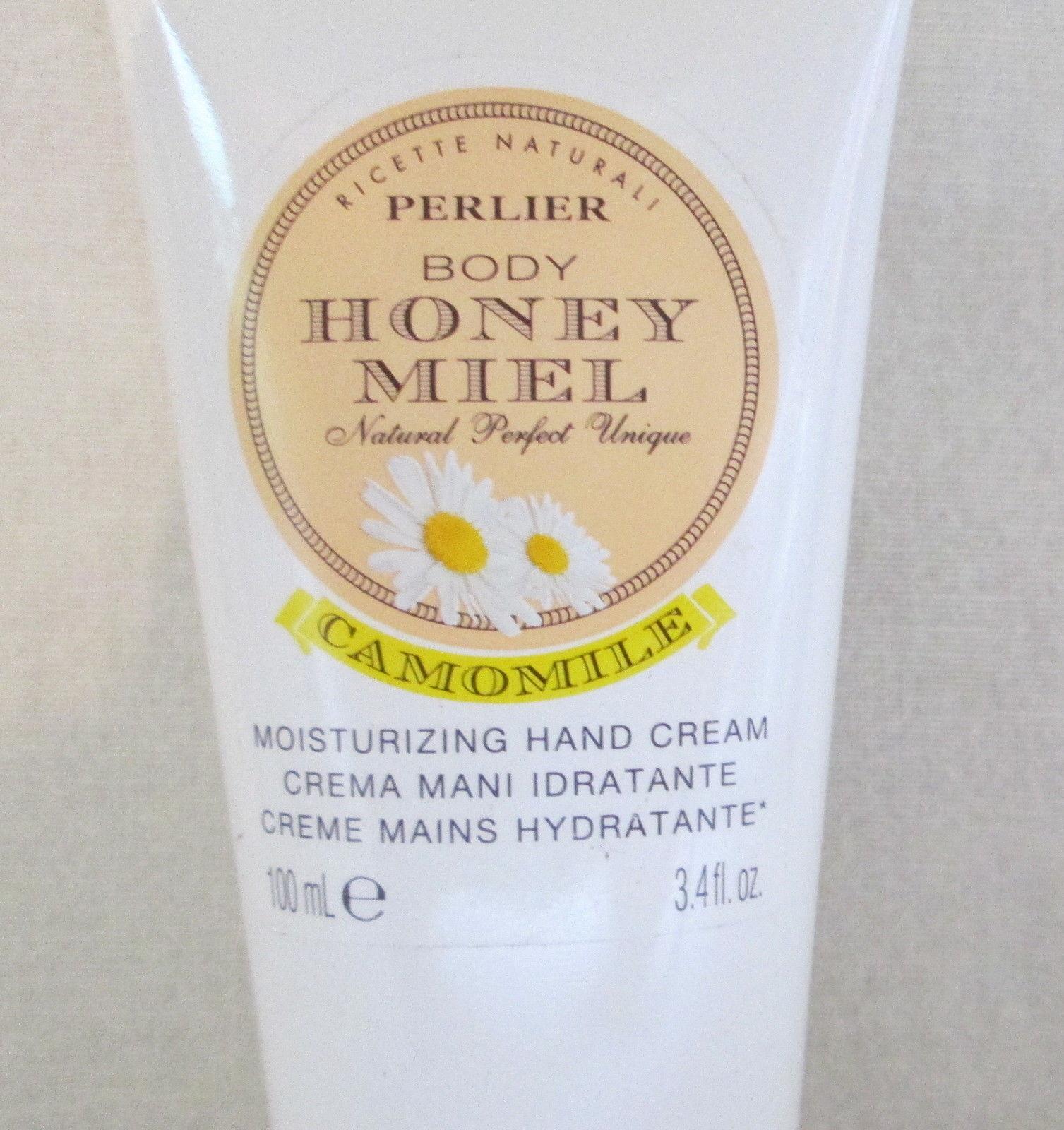 Perlier Meil HONEY CAMOMILE Hand Cream 3.3 fl oz