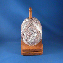 Econ Oak Yarn / Thread Holder - Natural Wax Finish - $25.00