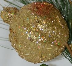 Unbranded 31263 Holiday Ball Christmas Holly Berries Pine Needles Spray image 5