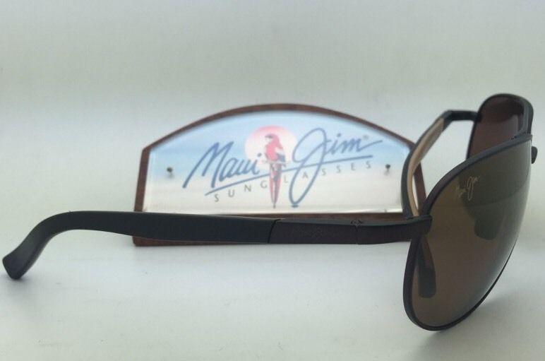 6c7e8b4b9a0b Polarized MAUI JIM Sunglasses LEEWARD COAST MJ 297-01M Brown Frame Bronze  Lenses