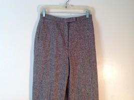 Ladies Charter Club Petite Brown Tweed Pants Size 8P image 3