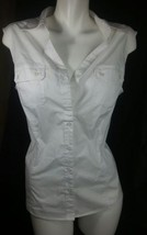 """Riders by Lee Sleeveless Top XL """" White """" - $7.69"""