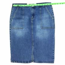 Gap Jeans Women's Denim Skirt Size 8 W31 Blue - $23.43