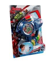 6pc Marvel Avengers Soft Foam Disc Shooter Blue Blaster - $12.19
