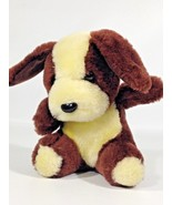 "Vintage McCrory Plush Puppy Dog Brown Yellow Mc Crory Commonwealth PA.Korea 6""  - $34.99"