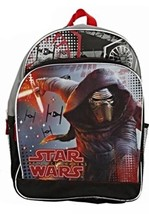 "Licensed Star Wars The Force Awakens KYLO REN 16"" Backpack NWT - $14.96"
