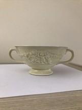 (2) Adams DELLA MONTE Titanware Cherubs Dual Handled Tea / Soup Bowl Cup... - $24.18