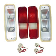 70-78 International Scout II Tail Light Lens Set Brake Lens 69-75 D-Series Truck