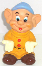 Walt Disney Productions Dopey Dwarf Squeaky Giant 8 Inch Toy Snow White - $49.95