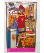 Barbie Kelly Doll 2001 McDonald's Fun Time Hamburger Fries Soda Gift Set... - $109.95