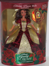 Disney Holiday Princess Belle Doll Holiday 1997 Mattel Enchanted Christmas VTG - $119.95