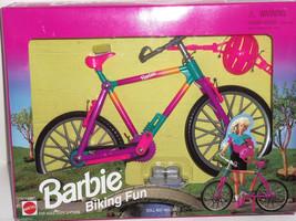Barbie Biking Fun Bike Bicycle Helmet 1998 Vintage NRFB - $69.95