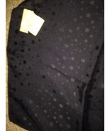 Nordstrom's 100% Silk Navy w/Bubble Pattern Scarf New w/ tags - $12.69