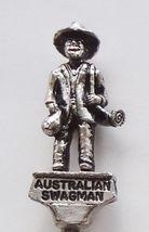 Collector Souvenir Spoon Australia Australian Swagman Swaggie 3D Figural - $18.99