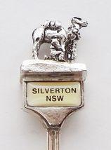 Collector Souvenir Spoon Australia Silverton NSW Prospectors Camel 3D Figural - $14.99