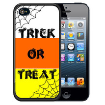 Halloween Rubber Case For I Phone 5S 5C Se 6 6S 7 Plus Trick Or Treat Candy Corn - $12.72+